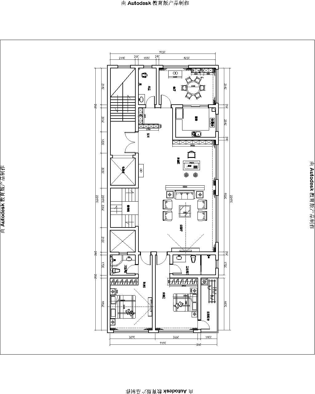 新中式复式楼装修设计理念