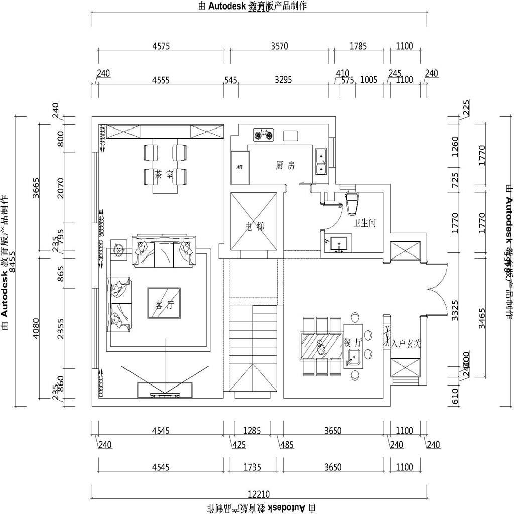 泰安颐和院子-现代简约-220㎡装修设计理念